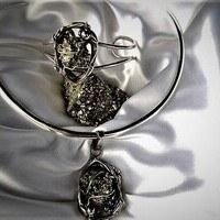 Ensemble Pyrite ( Peut être vendu séparément)