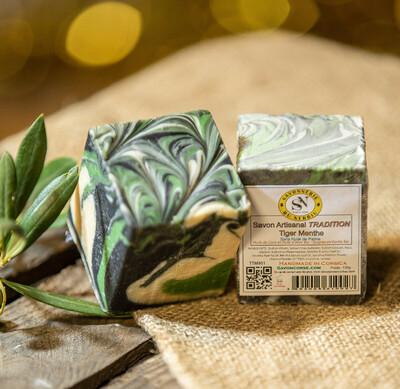Savon Tradition - Menthe verte et menthe poivrée